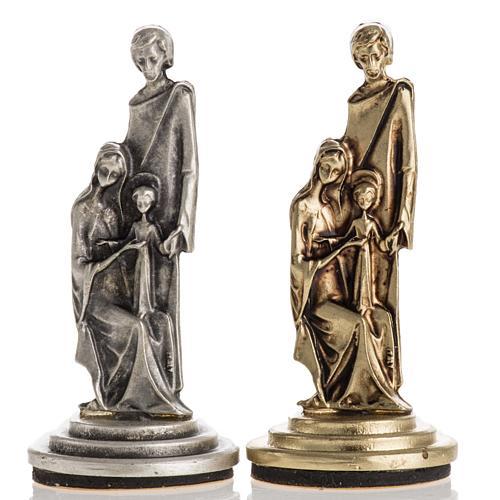 Imán de la Sagrada Familia dos colores 6cm 1