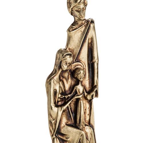 Imán de la Sagrada Familia dos colores 6cm 2