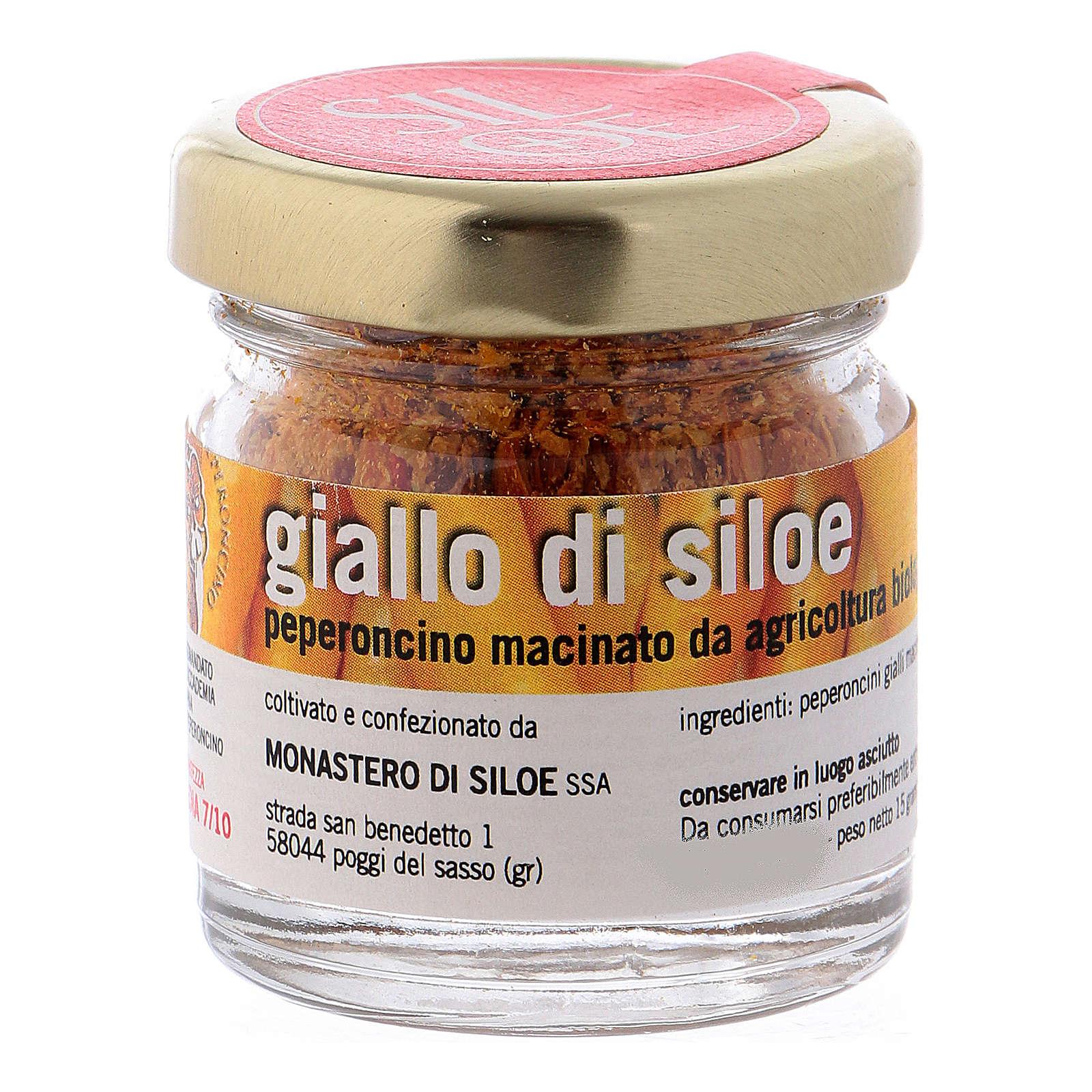 Chiles en confección regalo Monasterio de Siloe 3