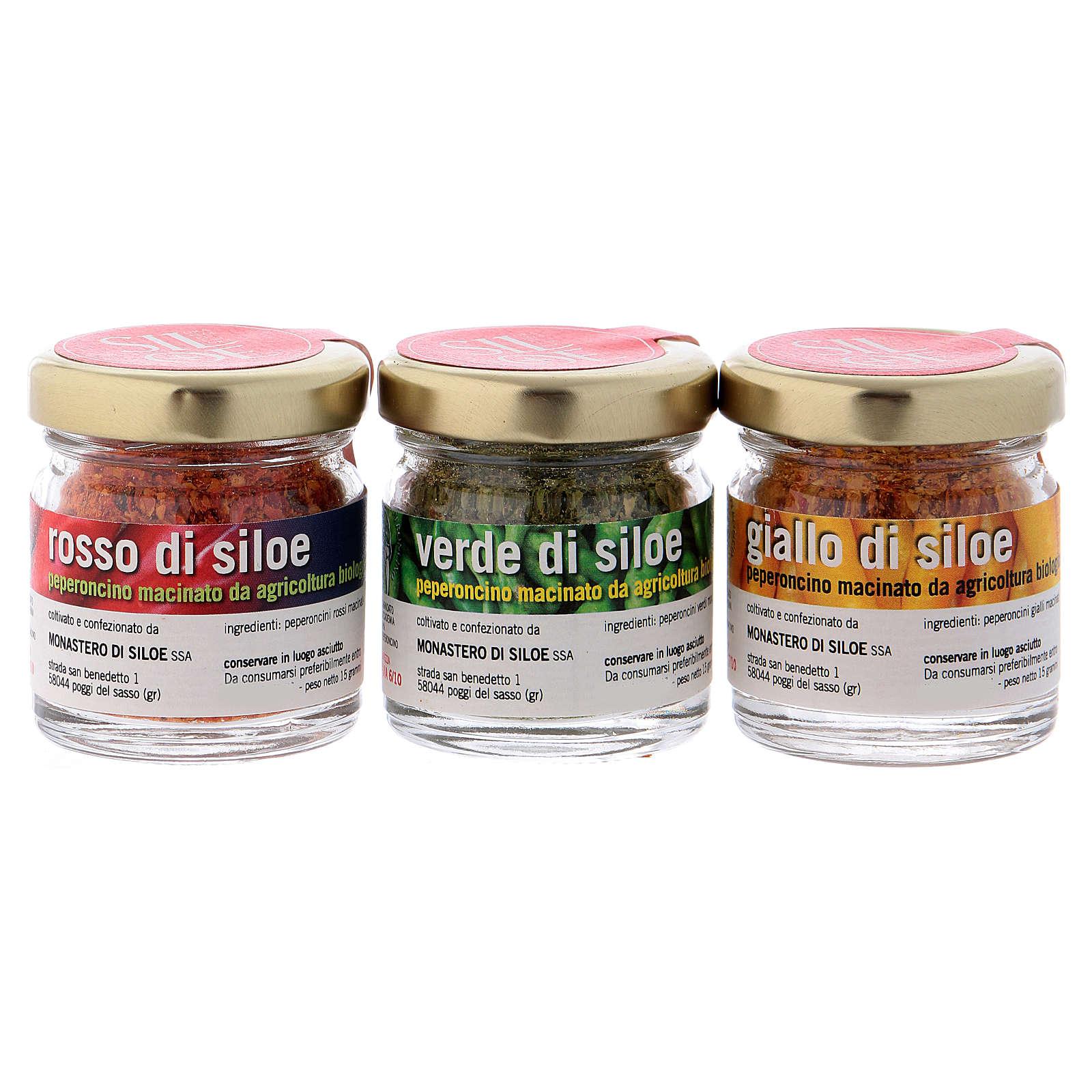 Conjunto pimentas picantes Mosteiro de Siloe 3