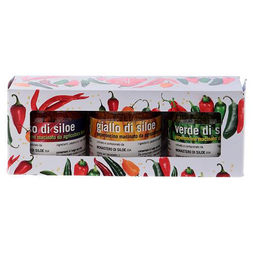 Conjunto pimentas picantes Mosteiro de Siloe 5