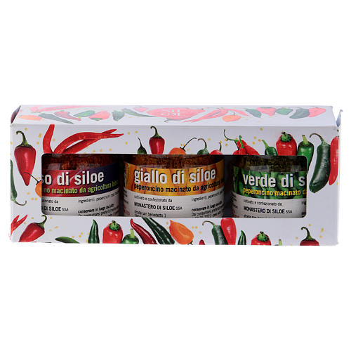 Hot pepper gift package- Monastery of Siloe 5