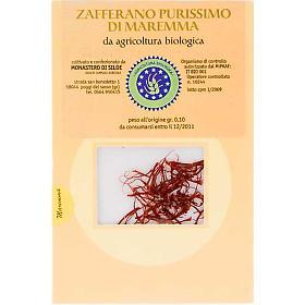 Aceite de oliva y especias: Azafrán purísimo Monasterio de Siloe