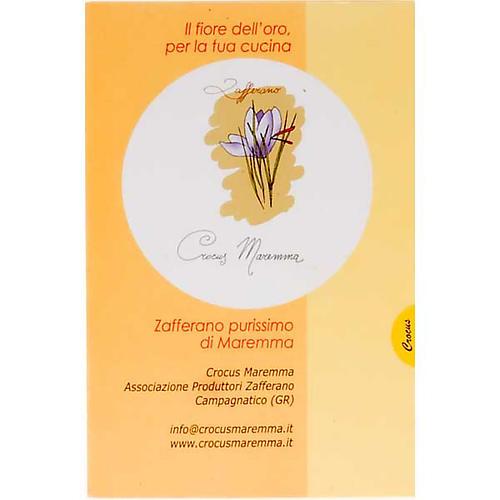 Zafferano purissimo Monastero di Siloe 0,10 gr 2