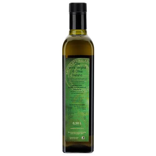 Aceite de oliva extra virgen Monasterio de Vitorchiano 3