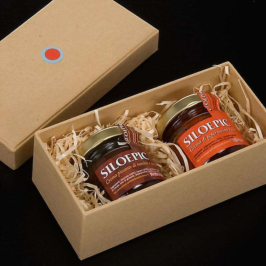 Crema picante: 2 frascos, Monasterio Siloe 3