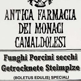 Italian dried Porcini mushrooms, Camaldoli s3