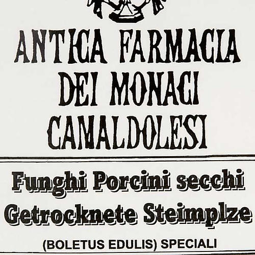 Míscaros secos italianos Camaldoli 3