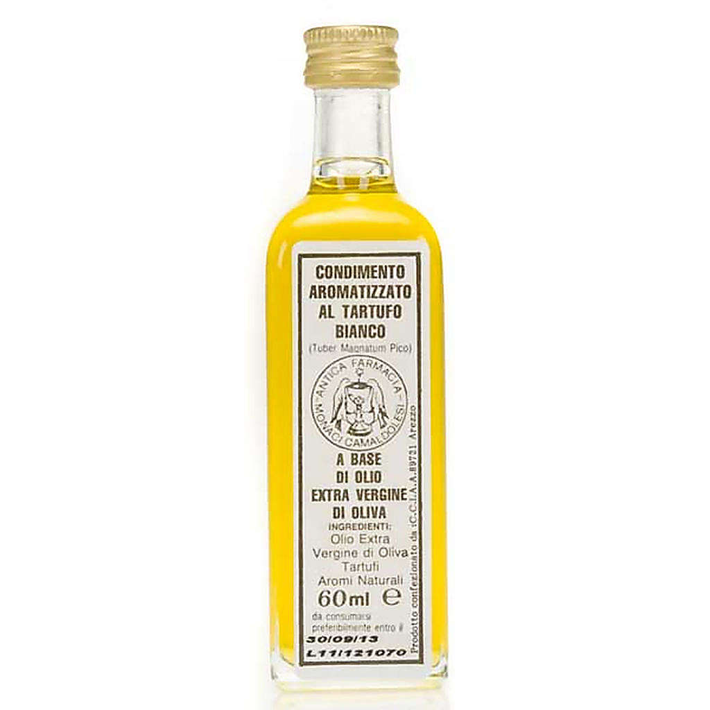 Aceite extra virgen de oliva aromatizado con trufa blanca 60 ml 3