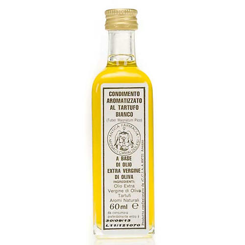 Aceite extra virgen de oliva aromatizado con trufa blanca 60 ml 1