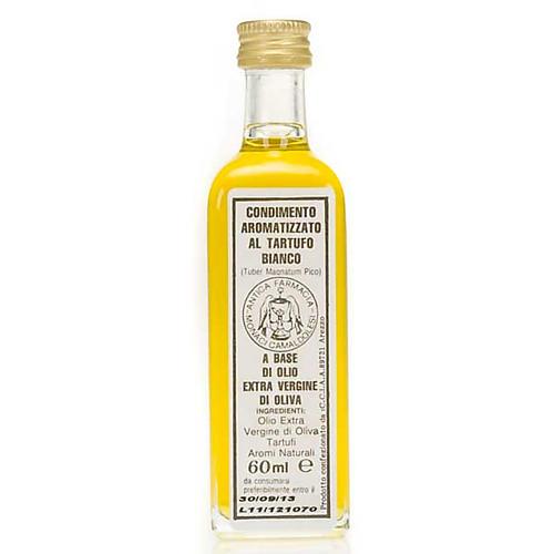 Olej z pierwszego tłoczenia aromatyzowany białą truflą 60 ml 1