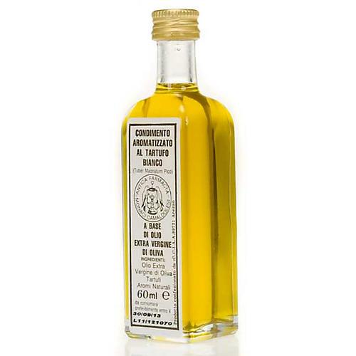 Olej z pierwszego tłoczenia aromatyzowany białą truflą 60 ml 2