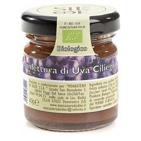 Confettura di uva Ciliegiolo Monastero Siloe 40 gr s1