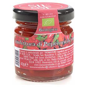 Confettura di peperoncini rossi Monastero Siloe 40 gr s1