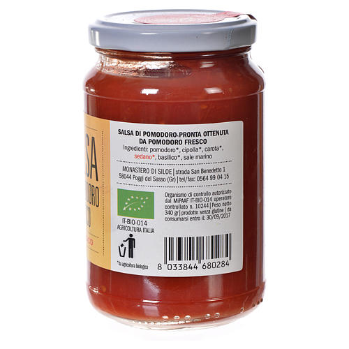 Fresh tomato sauce of Siloe 340g 2