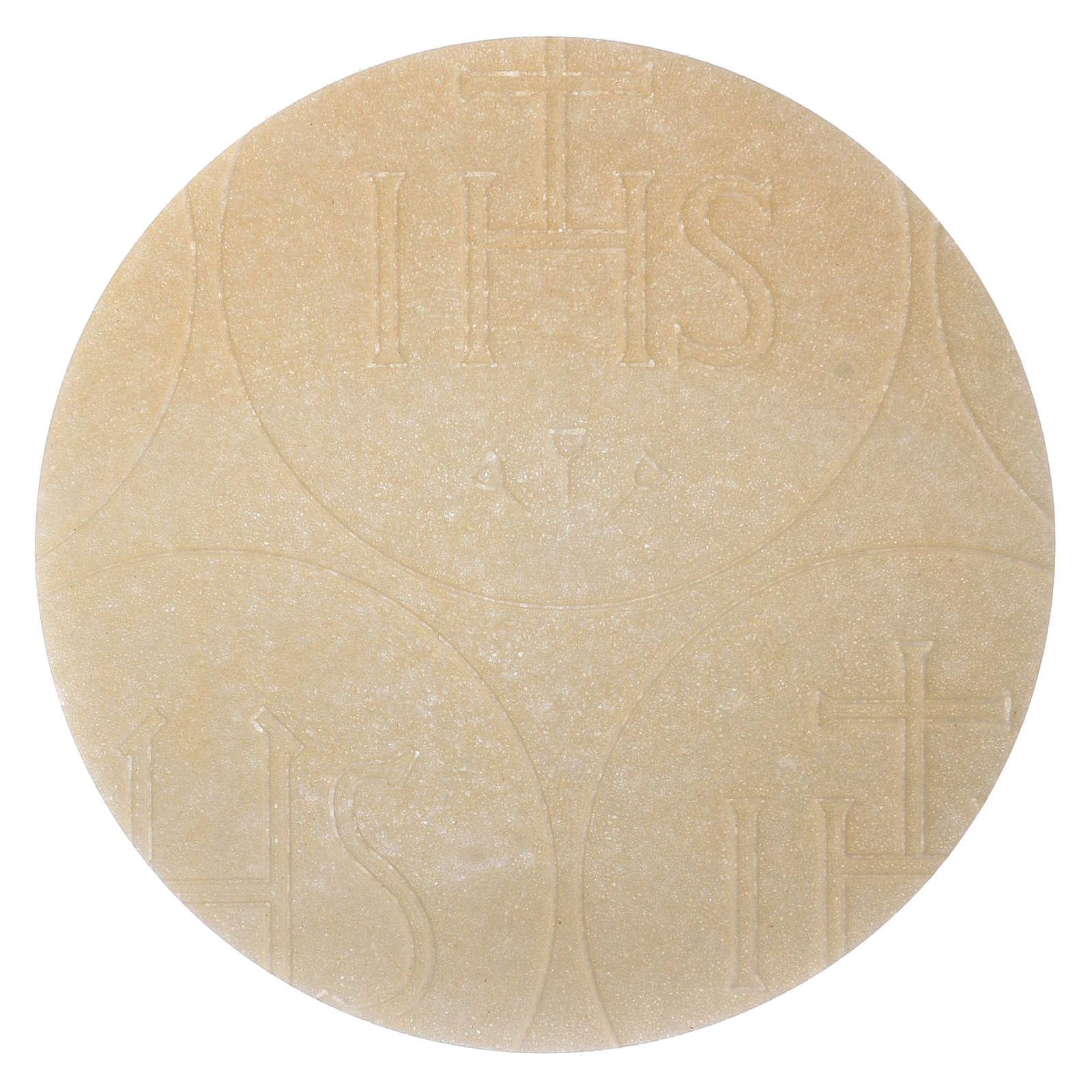Konzelebrationshostien 12.5 cm 5 Stück dünn 3