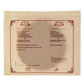 Hostie Koncelebra 5 sztuk średnica 12.5 cm cienkie s3
