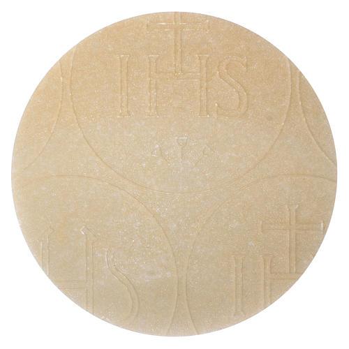 Hostie Koncelebra 5 sztuk średnica 12.5 cm cienkie 2