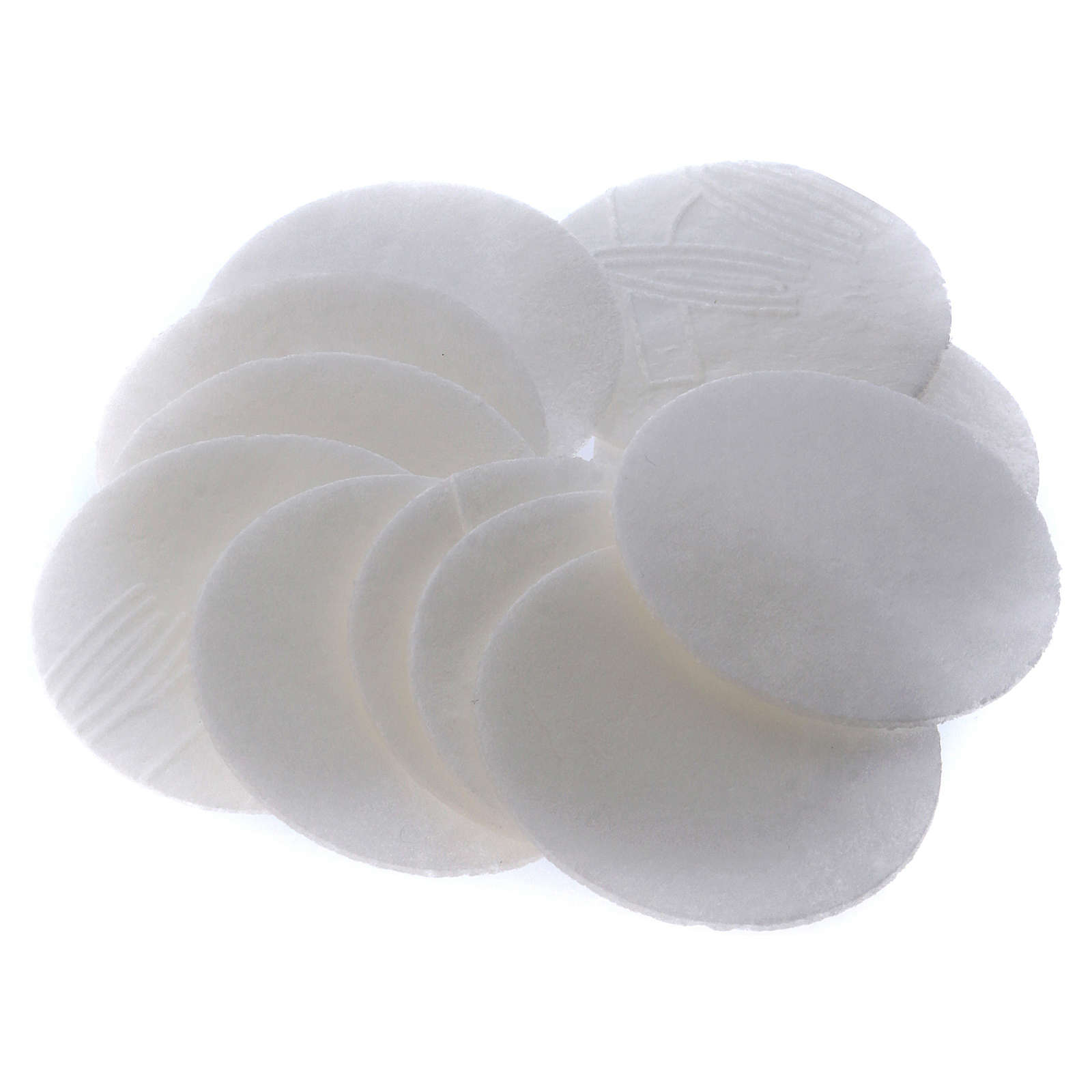 Formas / Hostias para celiacos bajo contenido gluten 50 unidades diám. 3,5 cm. 3