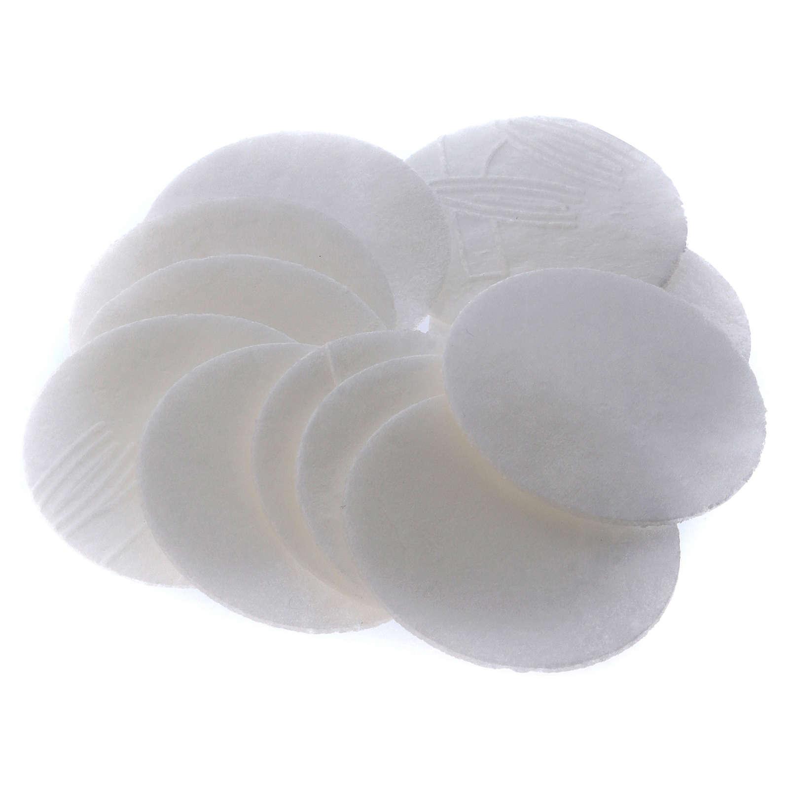 Hosties pour coeliaques sans gluten 50 pcs. diam. 3,5 cm 3