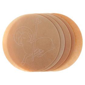 Formas pan concelebración 5 piezas, diámetro 16 cm. s3
