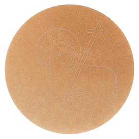 Hostie-pain pour con célébration 5 pièces diam. 16 cm s2
