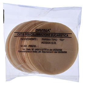 Thick altar bread 7.5 cm diameter 15 pcs bag s1