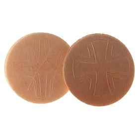 Hostia Magna de pan, 15 piezas, díametro 7,5 cm s2