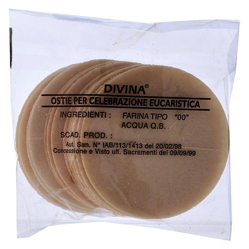 Hostia Magna de pan, 15 piezas, díametro 7,5 cm 1