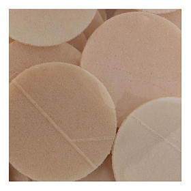 Thick altar bread 3.5 cm diameter 300 pcs bag s2