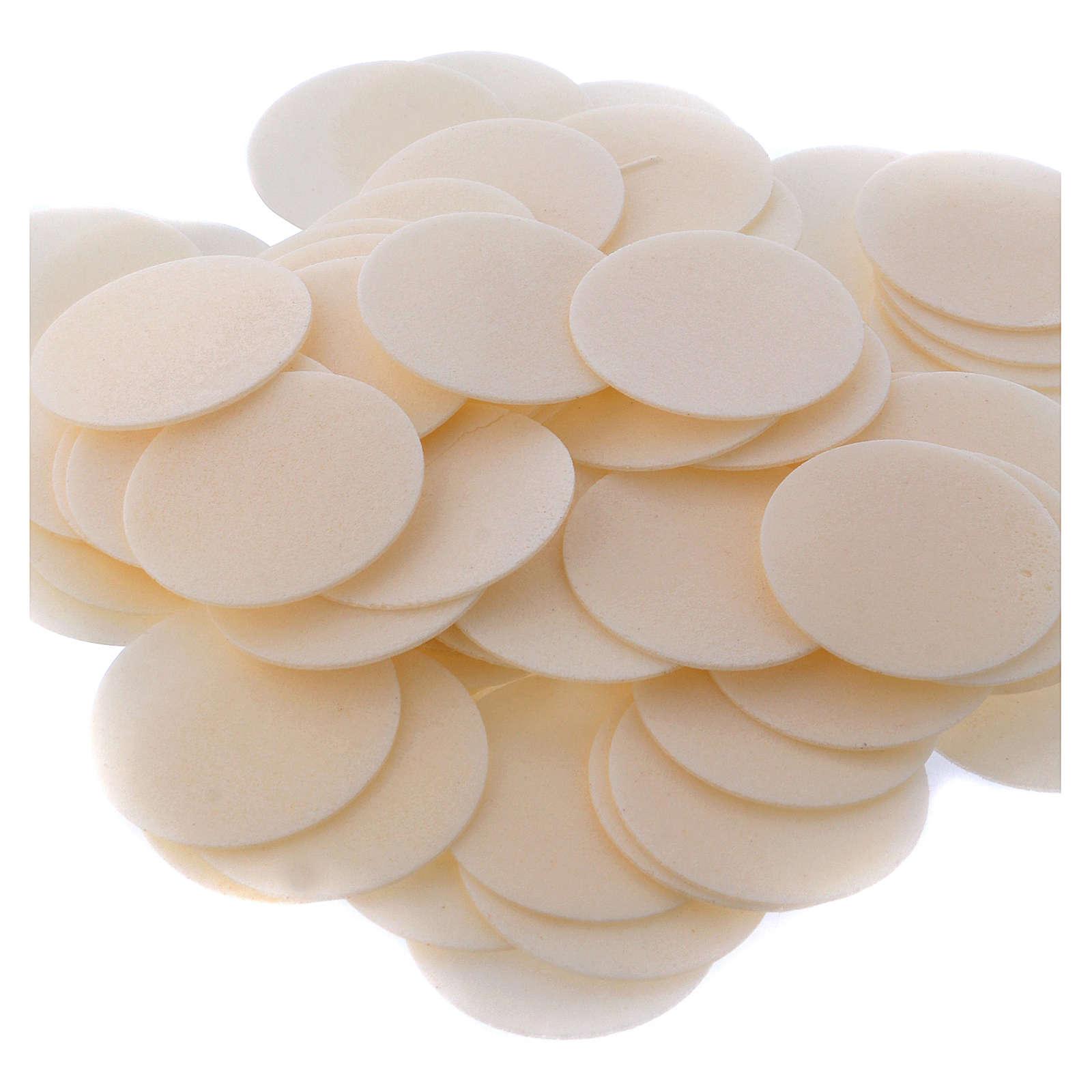 Hostias 500 piezas 3.5 cm. sútiles 3