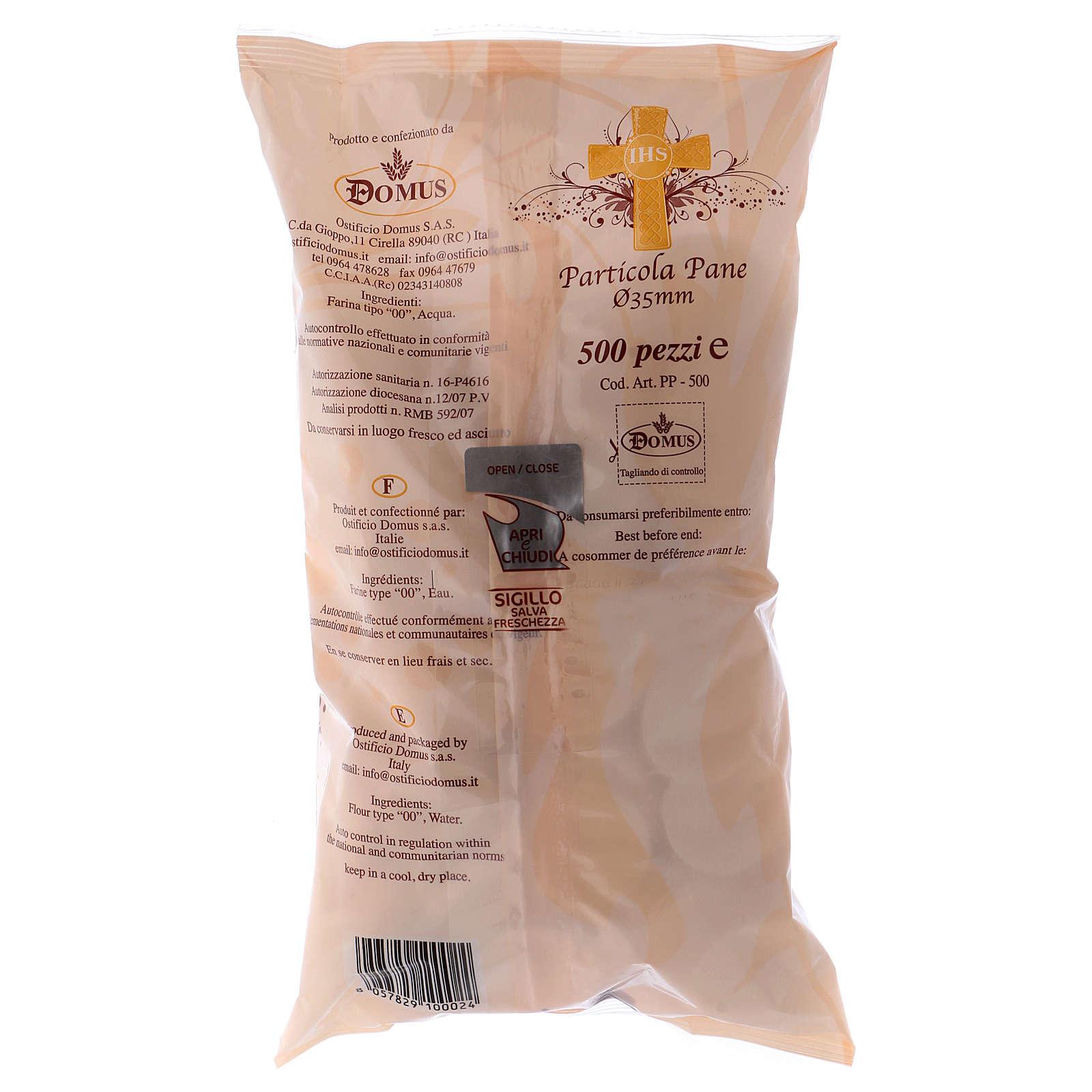 Hostie Chleb 1.4 mm grubość 3.5 cm średnica 500 sztuk 3
