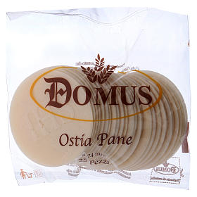Hostia Magna chleb 7.5 cm średnica 20 sztuk s1