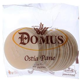 Hóstias e Partículas para Missa: Hóstia celebrante espessa 25 unidades diâmetro 7,5 cm