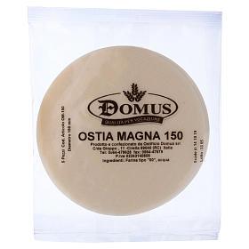 Hóstias e Partículas para Missa: Hóstia concelebração 5 unidades diâm. 15 cm