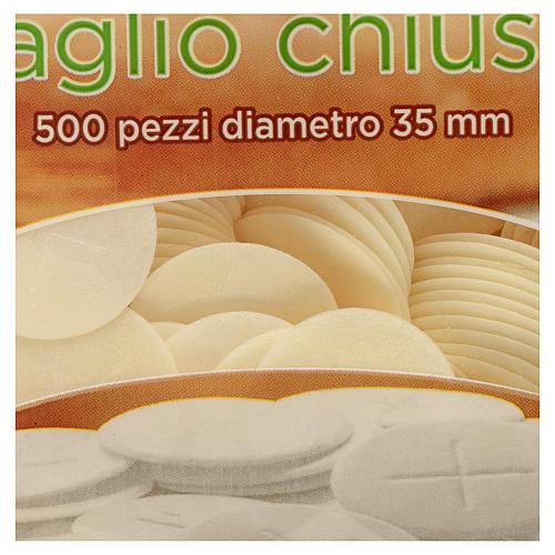 Partículas de borda fina 3,5 cm 500 unidades 10