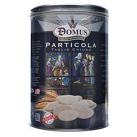 Hóstias e Partículas para Missa: Lata Deluxe 3000 partículas borda fina 3,5 cm