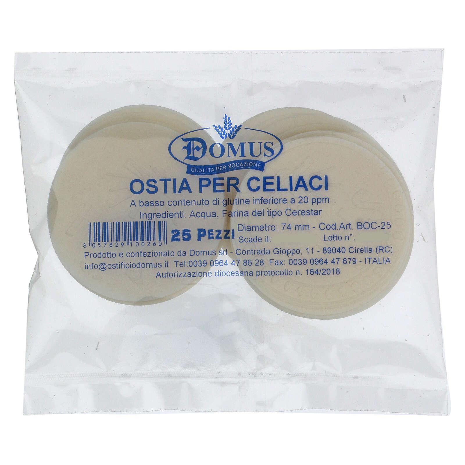 Glutenreduzierte Hostien bei Zöliakie geeignet 75 mm 3