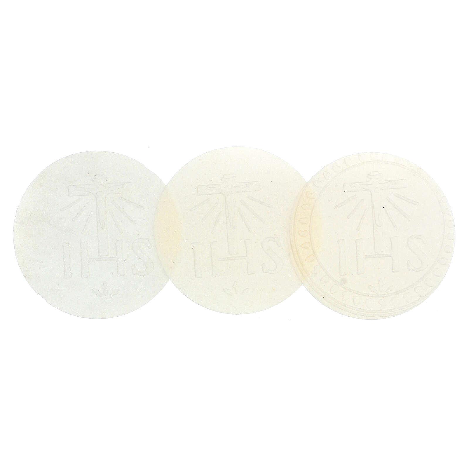 Formas para consagrar bajo contenido de gluten celiácos 75 mm 3