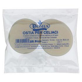 Formas para consagrar bajo contenido de gluten celiácos 75 mm s1