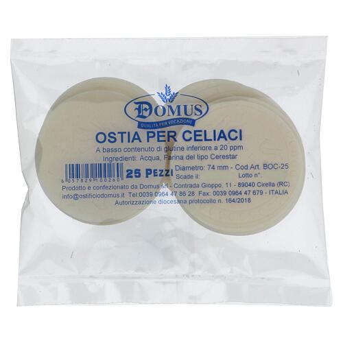 Formas para consagrar bajo contenido de gluten celiácos 75 mm 1