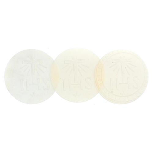 Formas para consagrar bajo contenido de gluten celiácos 75 mm 2