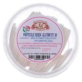 Formas para consagrar bajo contenido de gluten tarro de plástico 50 unidades - 3,5 cm s1