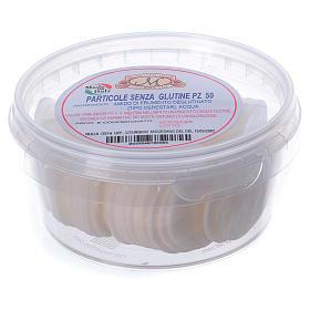 Formas para consagrar bajo contenido de gluten tarro de plástico 50 unidades - 3,5 cm s2