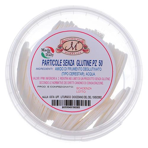 Formas para consagrar bajo contenido de gluten tarro de plástico 50 unidades - 3,5 cm 1