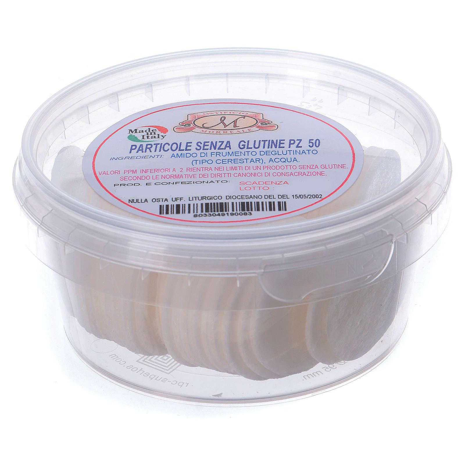 Hosties pour coeliaques sans gluten 50 pcs 3,5 cm 3