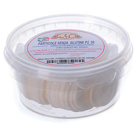 Ostie per celiaci senza glutine barattolo 50 pz - 3,5 cm s2