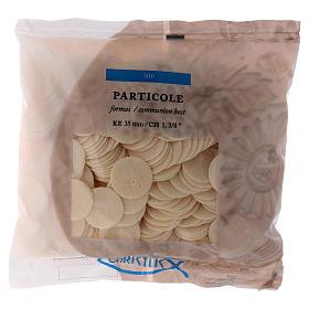 Partículas, hostias para misa: Formas para Consagrar 3,5 cm 500 unidades