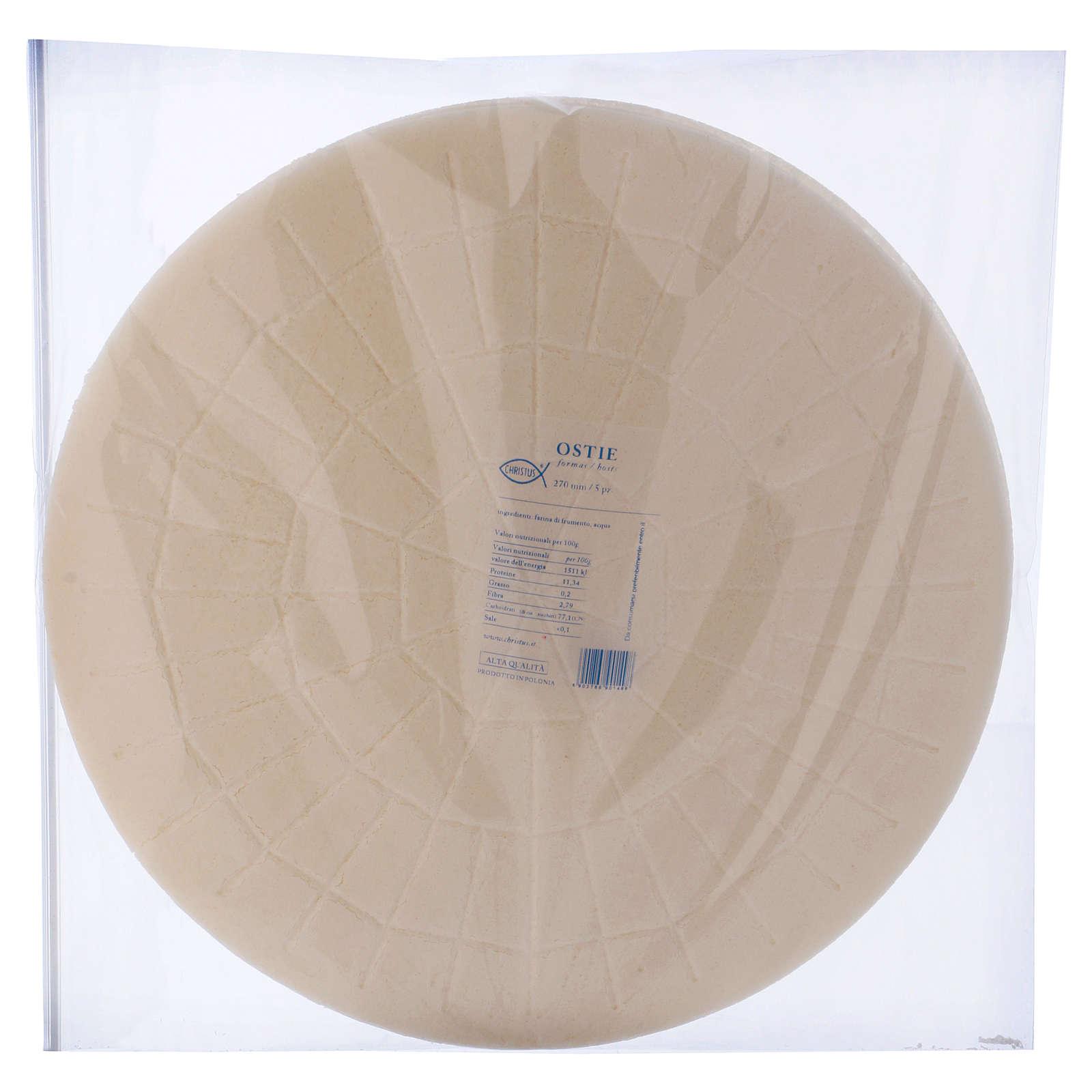 Konzelebrationshostien 27 cm 5 Stück 3