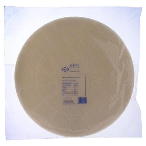 Concelebration holy bread 22 cm 5 pieces 1
